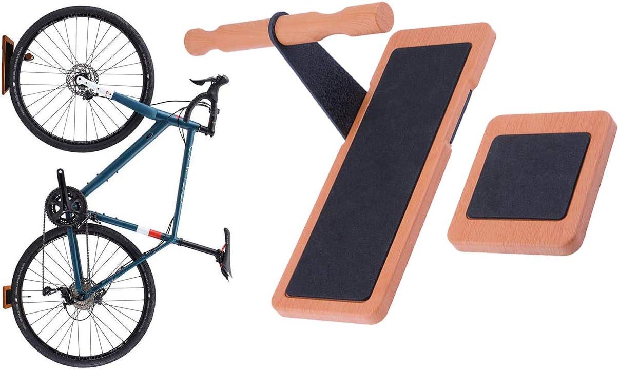 1pc Bicycle Wall Mount Pedal 2pcs Wheel Wall Bracket for Garage . Maxfind Fahrradhalterung Wandhalterung Fahrrad by