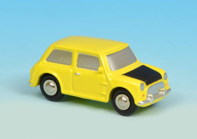 Schuco 450133700 Piccolo Mini Mr B Gelb 450133700 Piccolo Modellauto Modellfahrzeug Spielzeug
