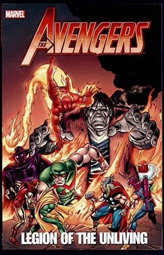 Avengers: Legion of the Unliving Graphic Novel Trade Paperback TPB Marvel Comics