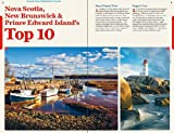 Front cover for the book Lonely Planet Nova Scotia, New Brunswick & Prince Edward Island by Celeste Brash