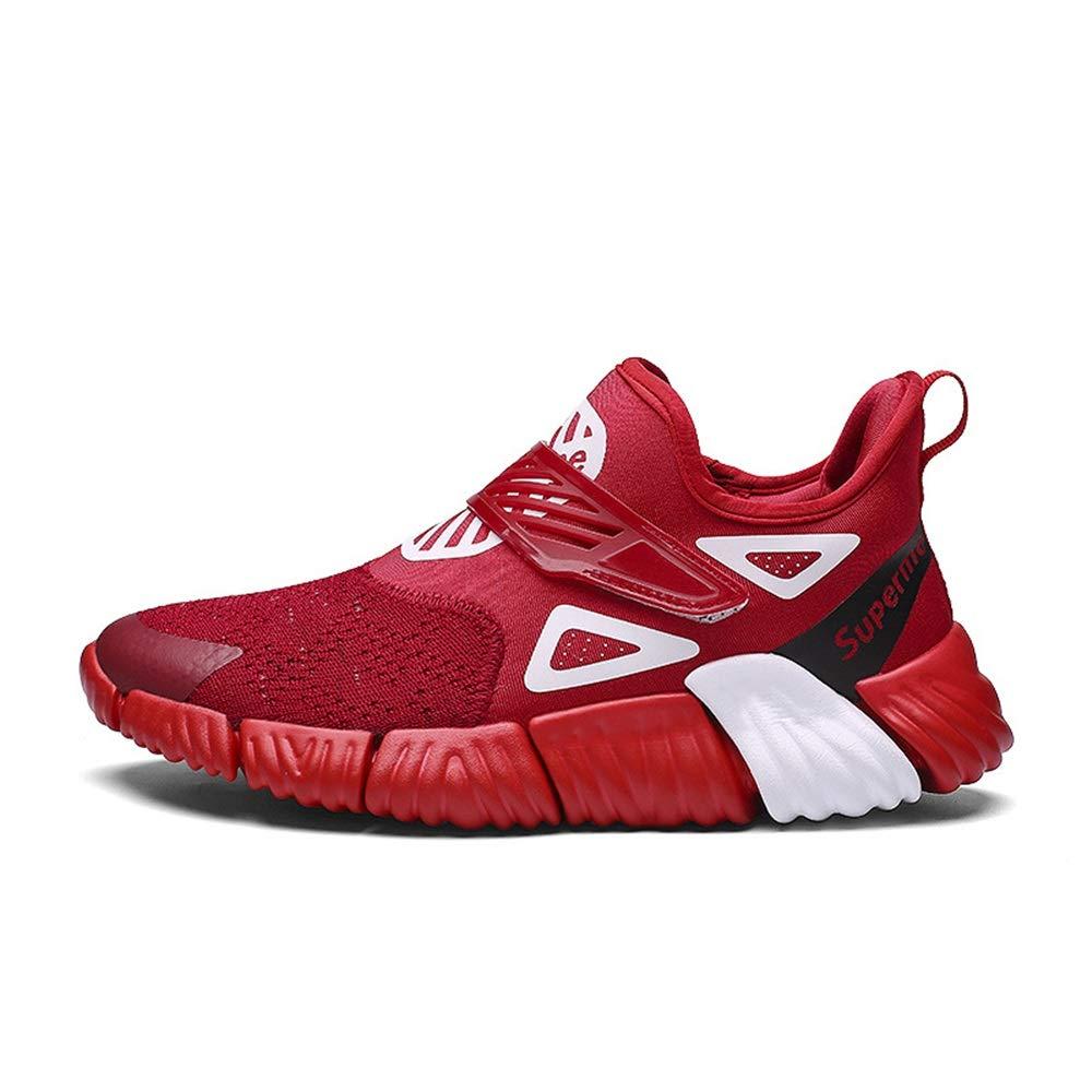 Qiusa Herren Herren Herren Sportschuhe weiche Sohle Rutschfeste Durable Breathable Comfort Laufschuhe (Farbe   Rot, Größe   EU 41) 74e8a0
