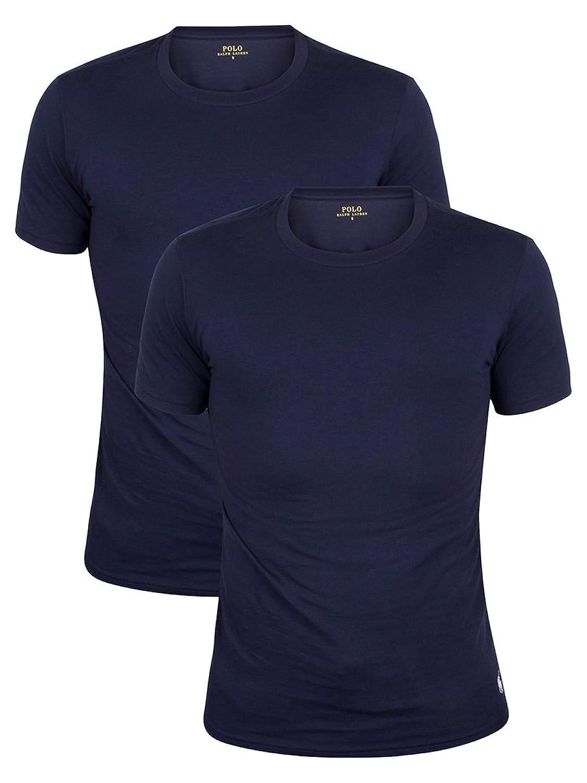 Polo Ralph Lauren Herren 2er-Pack-Logo-T-Shirts, Blau