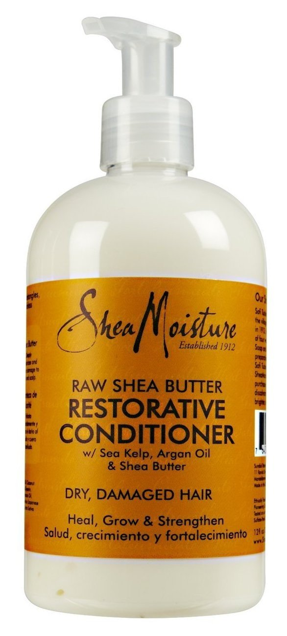 Shea Moisture Raw Shea Conditioner 13 Ounce (384ml) (3 Pack) by Shea Moisture
