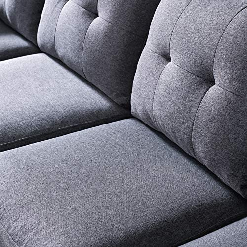 home, kitchen, furniture, living room furniture,  sofas, couches 5 discount HONBAY Reversible Sectional Sofa Couch for Living Room deals