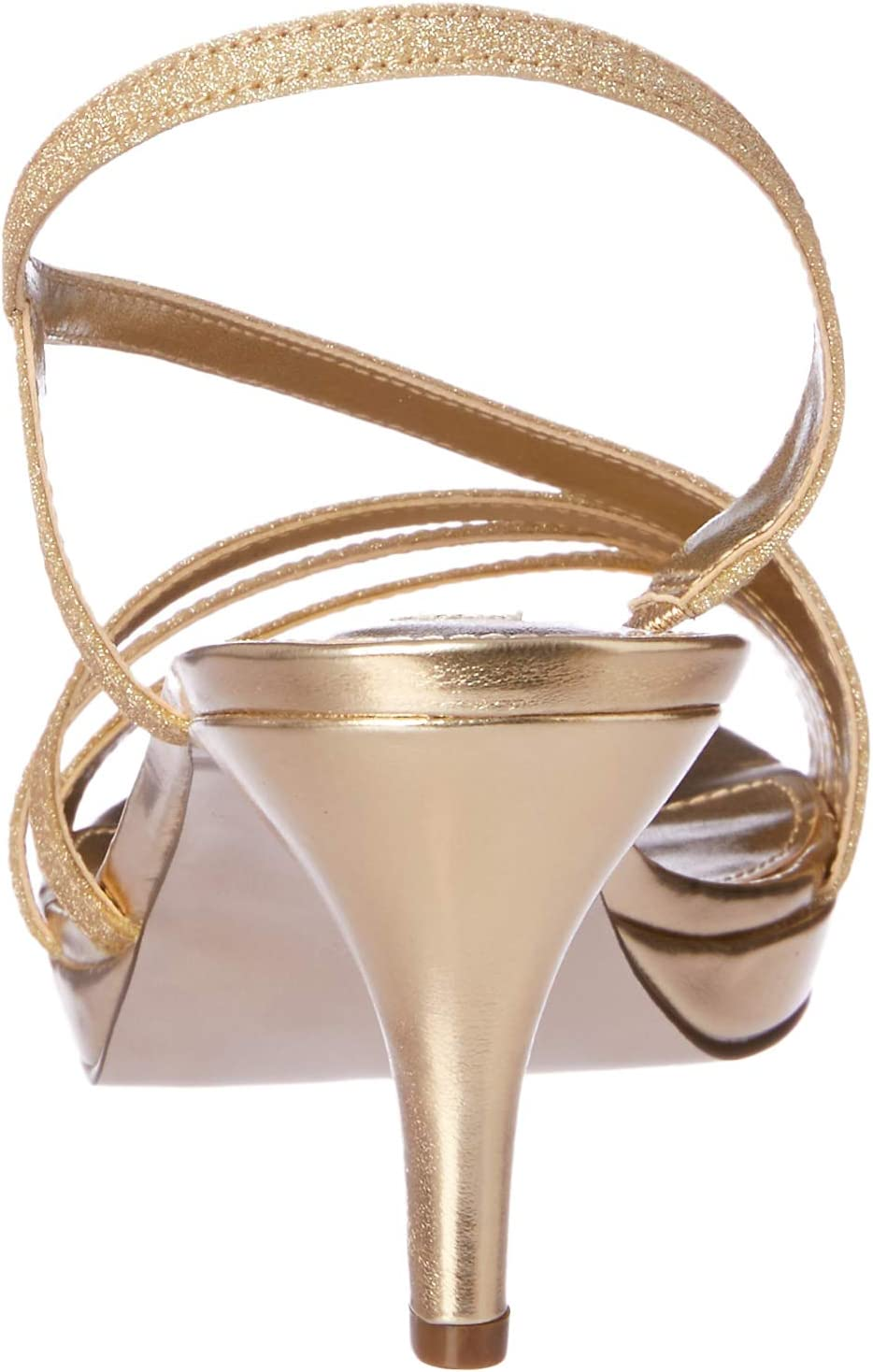 Nina Women's Neely Fashion Sandals Gold (GOLD GLITTER)