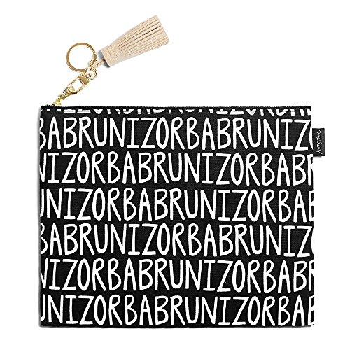 Zorba Clutch Handmade Pouch Art Mallangluna Fabric Tassle with Bruni Design Pencil amp; 6zgIqwxf