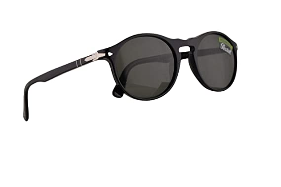 503ae4e10f Image Unavailable. Image not available for. Color  Persol PO3204S Sunglasses  Black ...