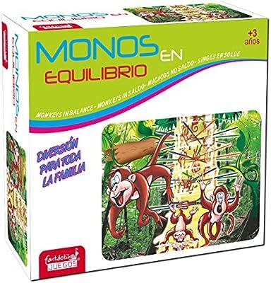 JUINSA- Juego Monos Quita la Rama, Multicolor, 21 x 27 cm (9843 ...