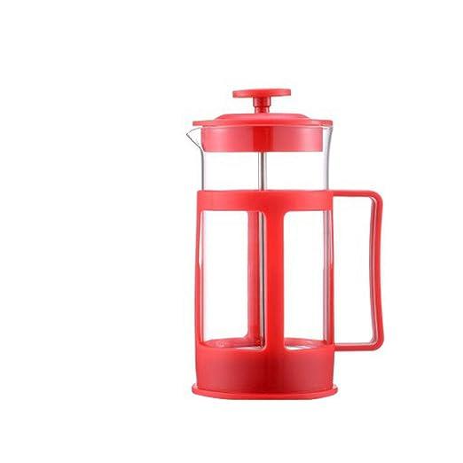 Cafetera de plástico con filtro para cafetera francesa (350 ml ...