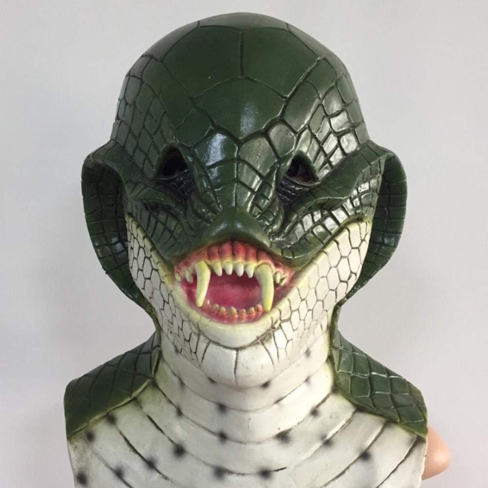 ¡no ser extrañado! Littlefairy Máscara Halloween,Horror de Serpiente Cabeza Cabeza Cabeza Máscara Halloween Traje de Baile de Disfraces Vestido de hasta  venta al por mayor barato