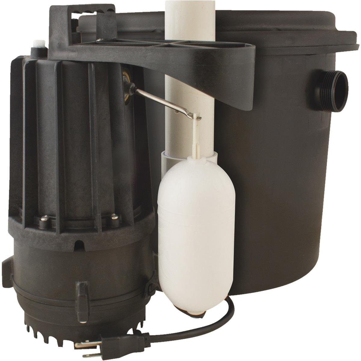 Star S1104 0.3 HP Drain Pump System Ideal for Wet Bars, Sinks, Water Softeners and More by Star