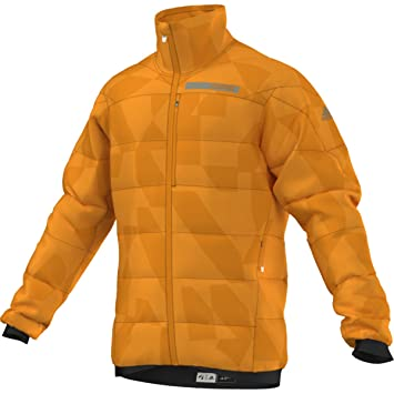 b3e99d09f Adidas Outdoor 2017 Men s Terrex SkyClimb Alpha Jacket (EQT Orange - M)