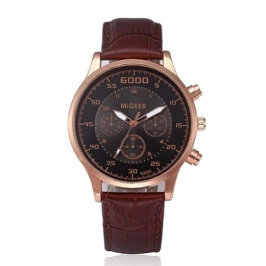 Cebbay Liquidación reloj Elegante y simple ocio Moda noble temperamento cinturón reloj (Negro): Amazon.es: Relojes