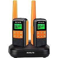 Retevis RT649 Walkie Talkie licentievrije PMR446 radioset 16 kanalen, VOX LED-zaklamp, IP65 waterdicht, scan twee…