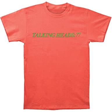 Amazon.com: Talking Heads Men's '77 Vintage T-shirt Salmon: Music ...