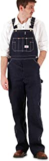 product image for Roundhouse Rigid Blue Denim Zipper Fly Overall