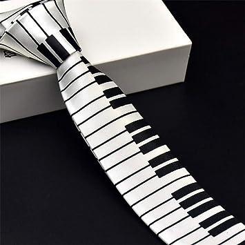 Graven - Corbata Musical para Hombre, diseño único con Teclado de ...