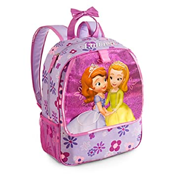 Amazon.com: Disney Store Princess Sofia the First Backpack Book ...