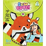 Colorbok Sew Cute Crochet Fox Hat and Scarf