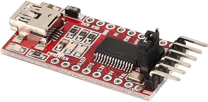 1* FT232RL FTDI USB to TTL Serial Adapter Module for Arduino Mini Port 3.3V 5.5V