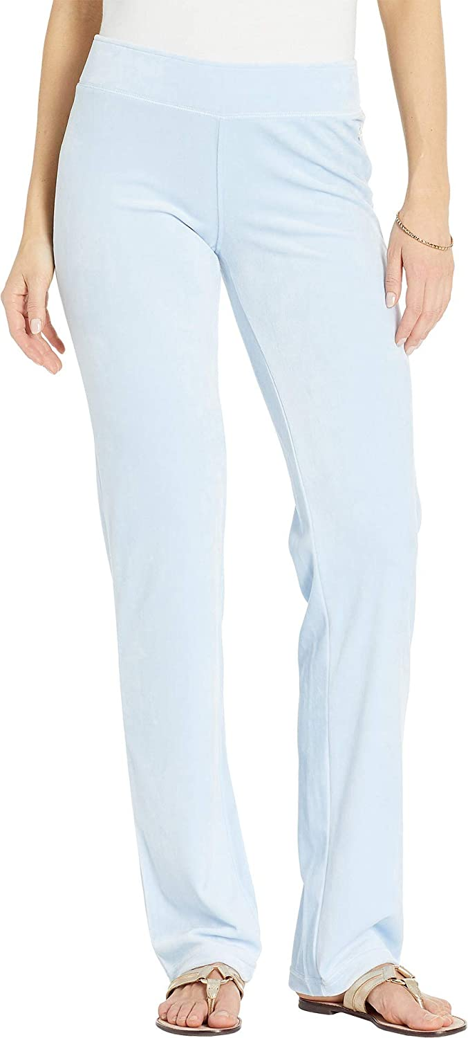 1f89e2a5370c7c Lilly Pulitzer Women's Jordynne Velour Crew Pants at Amazon Women's  Clothing store: