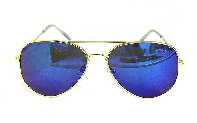 Classic Style Blau Sonnenbrille UV 400Schutz 3Stück l9pir