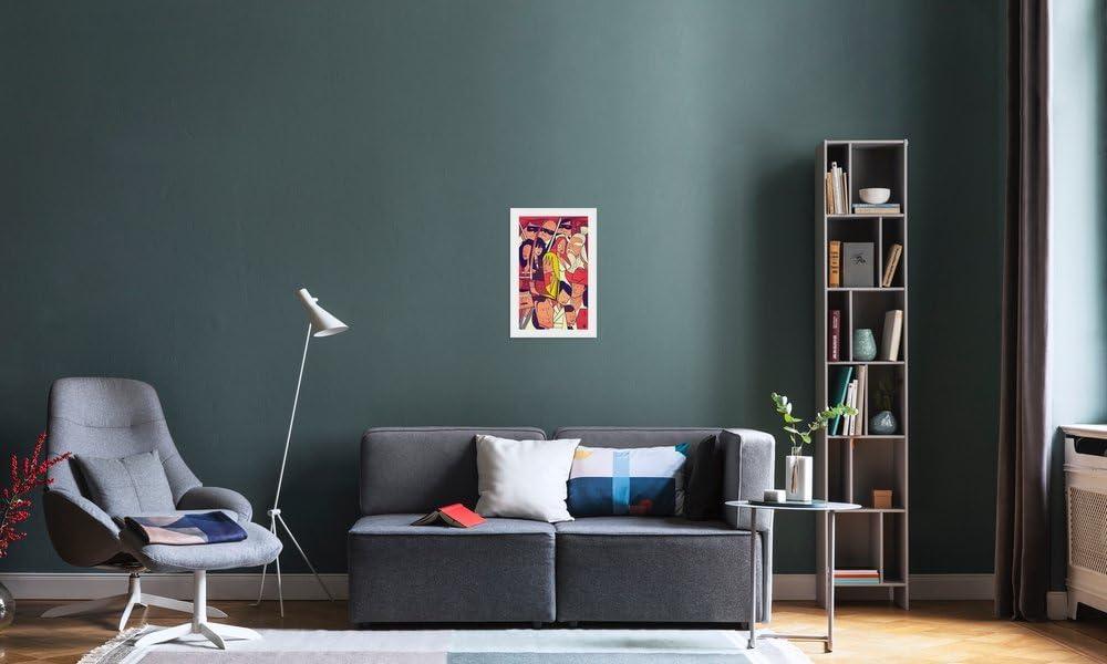 Juniqe/® Affiche 20x30cm Films - Poster Tirages dart /& Tableaux par des Artistes ind/épendants cr/é/é par Ale Giorgini Design Hattori Hanzo Format : Portrait