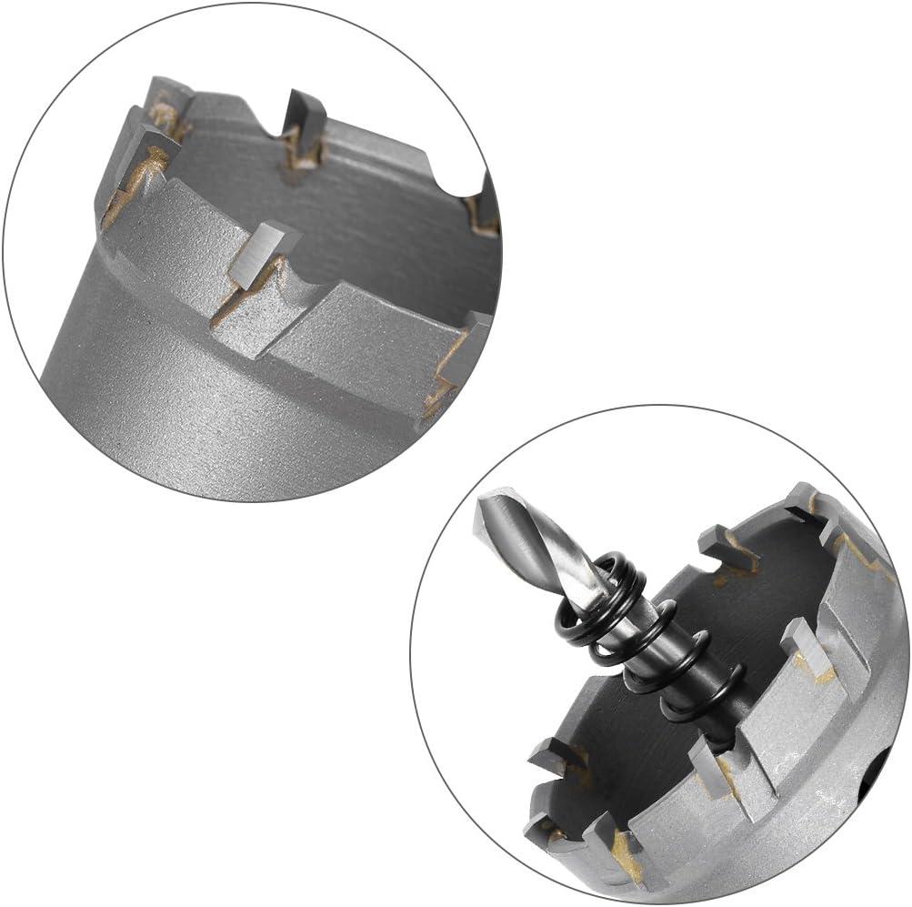 23mm sourcing map taladro metal de Taladro de Sierra Cortadora de Agujeros de Carburo de aleaci/ón de acero inoxidable
