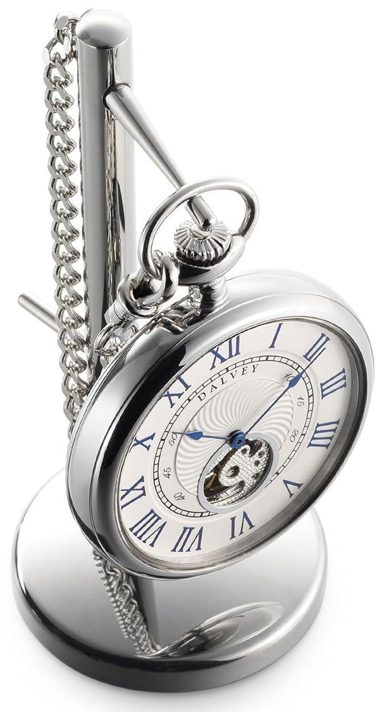 Open-Face Pocket Watch - Taschenuhr - Dalvey : mit StÄnder
