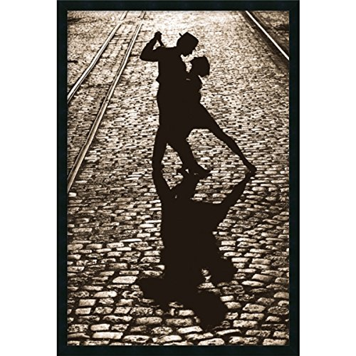 Framed Art Print, 'The Last Dance': Outer Size 25 x 37'' by Amanti Art