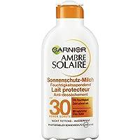 Garnier Ambre Solaire solskyddsmjölk, LSF 30, fuktgivande solkräm med sheasmör (1 x 200 ml)