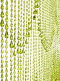 ShopWildThings Beaded Curtain Raindrops Green Non-Iridescent Acrylic Review