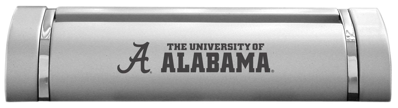 LXG, Inc. University of Alabama-Desk Business Card Holder -Silver