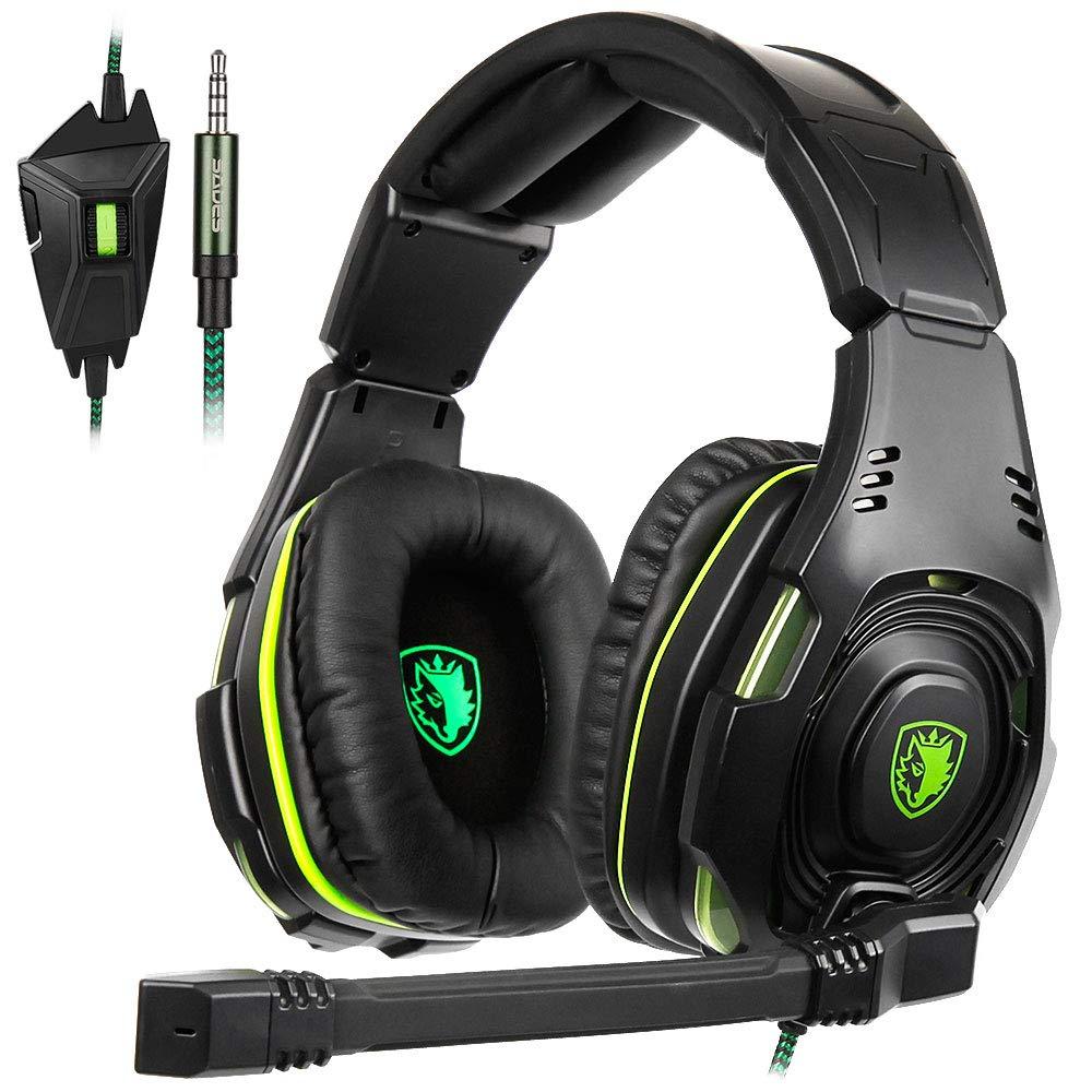 Auriculares Gamer : SADES SA-938 Multi-Platform PS4with Mic