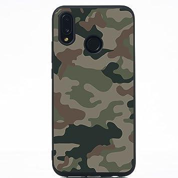coque huawei p20 lite motif camouflage