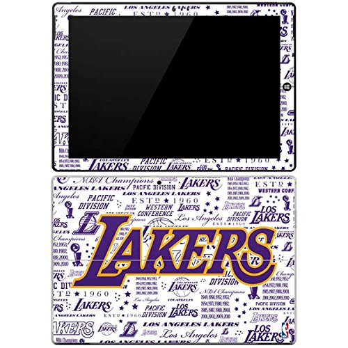 NBA Los Angeles Lakers Surface Pro 3 Skin - LA Lakers Historic Blast Vinyl Decal Skin For Your Surface Pro 3 by Skinit