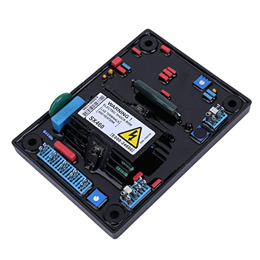 SX460 AVR Regulador de voltaje automático, SX460-A Regulador de voltaje automático Controlador AVR para generador Generador monofásico Regulador de voltaje automático