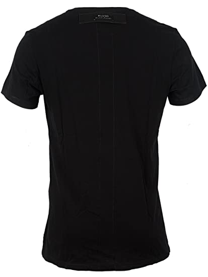 fde25341 Religion Men's Smoking Skull T-Shirt, Black, Small: Amazon.co.uk: Clothing