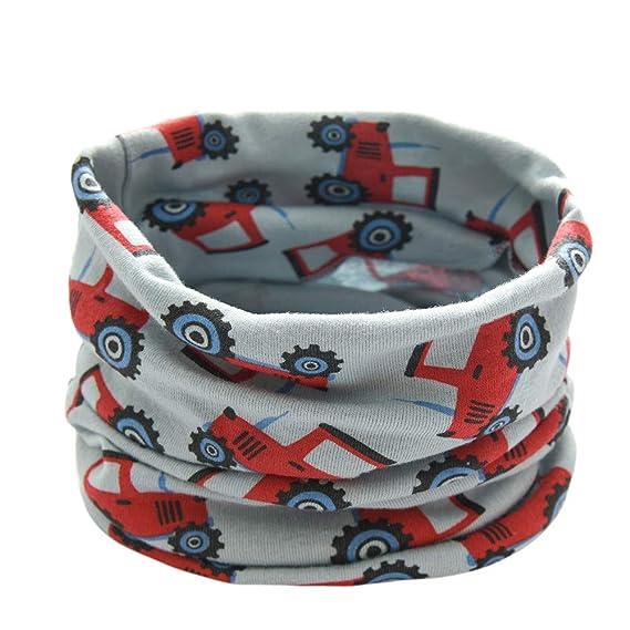Baby Loop Schal FORH Kinder Jungen M/ädchen Unisex Winter warm Schlauchschal O Ring Schals Hals schal mit sternen super weich Baumwolle rundschal