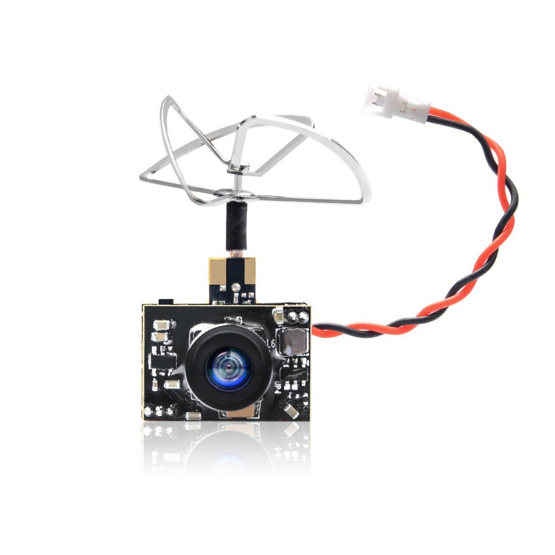 Goqotomo Gt02 200mw 5.8ghz 40ch Fpv Transmisor De Video Con Ultra Micro Aio Ntsc 600tvl Combo De Camara Para Fpv Indoor