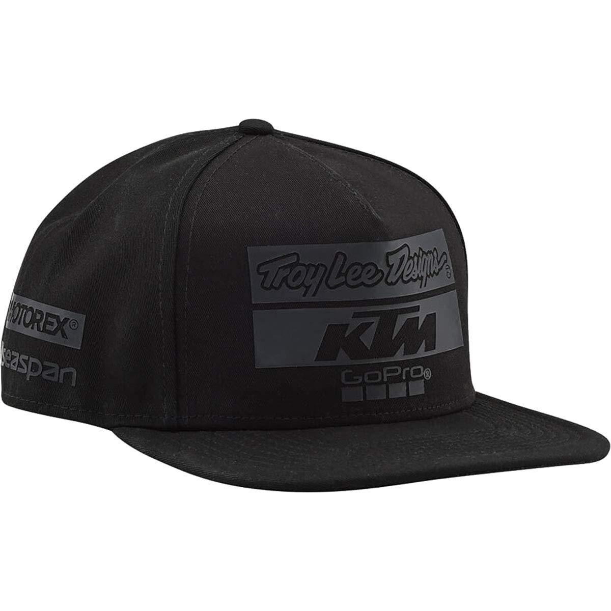 Troy Lee Designs KTM Team Limited Edition Blackout New Era 9Fifty Strapback Hat OSFA by Troy Lee Designs