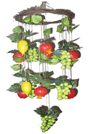Assorted fruits chandelier for the sukkah other products assorted fruits chandelier for the sukkah mozeypictures Images