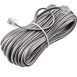 TEK-İŞ 521533 Telefon Ara Kablosu, Gri Siyah Beyaz