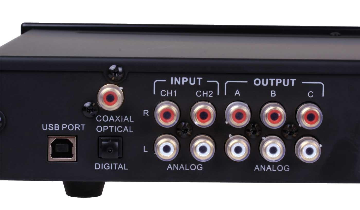 digital de frecuencia suave Reckhorn DSP-6 preamplificador combinaci/ón de salida