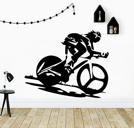 zhuziji Pegatinas de Pared Personalizadas para Bicicletas ...
