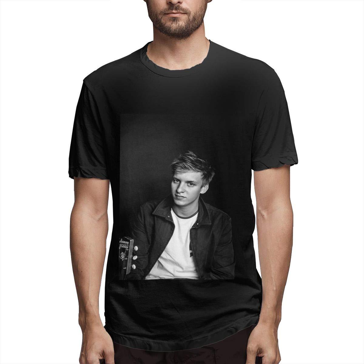 Lihehen Man George Ezra Round Neck T Shirts