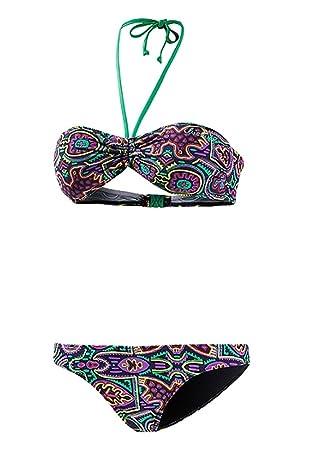 a34053124e Chiemsee Damen Bikini Set bunt S: Amazon.de: Bekleidung