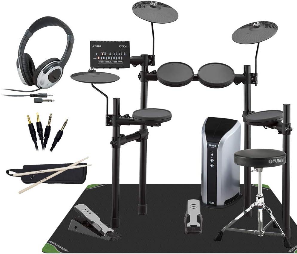 YAMAHA DTX402KS スピーカー・マット付き自宅練習9点セット 【PM03】 電子ドラム セット DTX402シリーズ ヤマハ