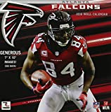 Turner Atlanta Falcons 2016 Mini Wall Calendar, September 2015-December 2016, 7 x 7'' (8040553)