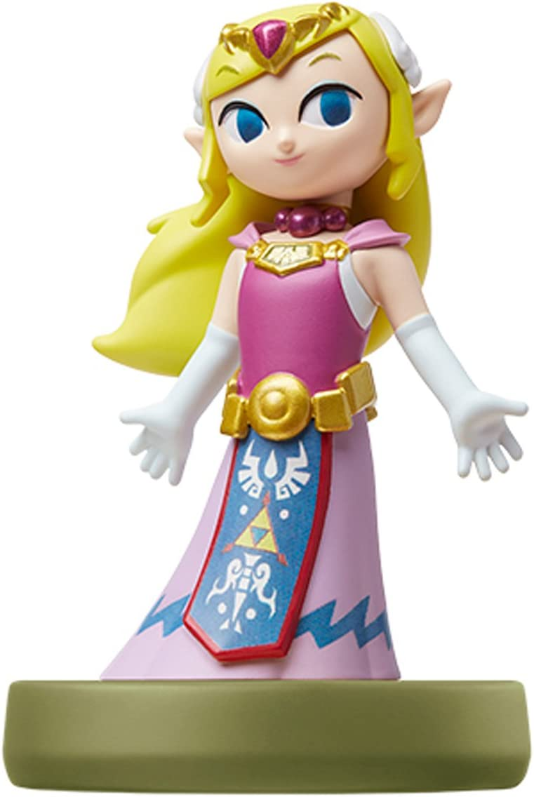 Amiibo Princess Zelda (The Wind Waker) - Princesa Zelda - Legend of Zelda Series Ver [Japan Import]: Amazon.es: Juguetes y juegos